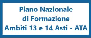 PIANO NAZIONALE DI FORMAZIONE PERSONALE ATA