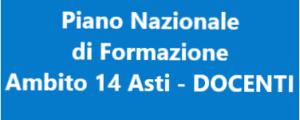 PIANO NAZIONALE DI FORMAZIONE DOCENTI